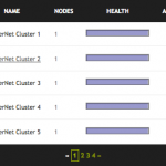 Cluster Management Screenshot