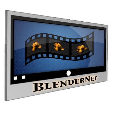 Initial BlenderNet logo design